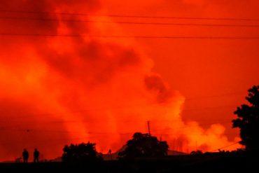Mount Nyaragongo: volcano erupts near big city