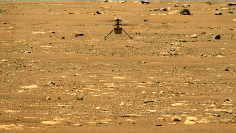 NASA publishes flying sounds from Mars helicopters for the first time