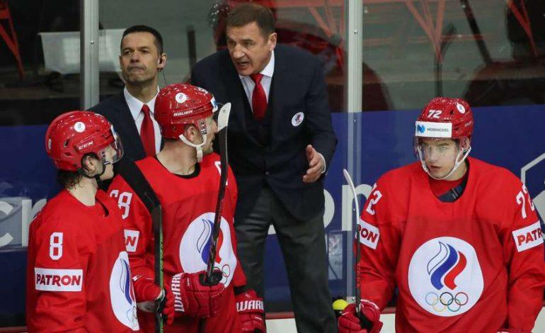 So sieht das Trikot der Mannschaft des Russischen Olympischen Komitees aus.  (Foto: dpa/picture alliance/dpa/TASS)