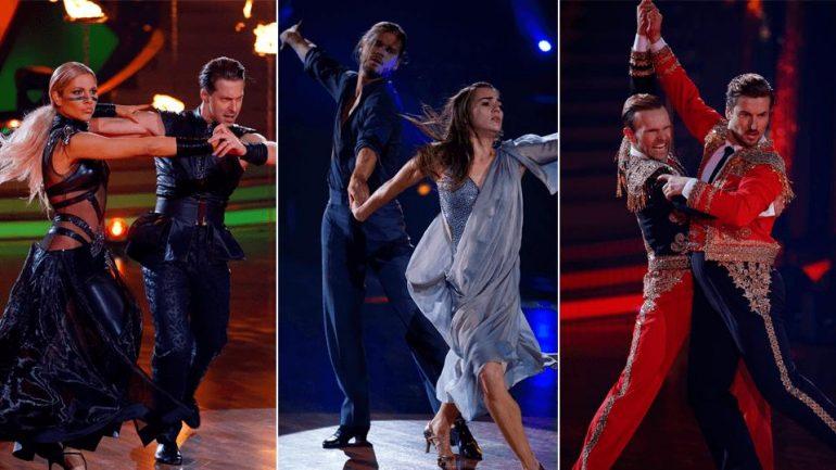 Rurik Gislason, Valentina Pahde and Nicholas Puschman dance to these dances today!