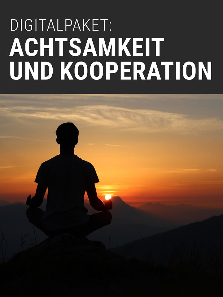 Booklet Cover Spectrum of Science Digital Package: Mindfulness and Cooperation