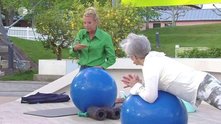 "Scam in ZDF Television Garden: Senior Citizen's Commentary Troubles Andrea ""Kiwi"" Keywell"