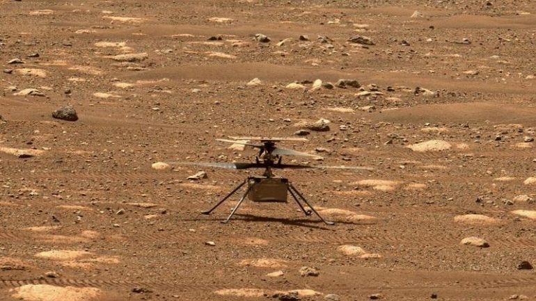 Science - Mars Helicopter Land Elsewhere - Knowledge