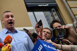 Ukraine: Raid at home of former Boxing World Champion Vitaly Klitschko