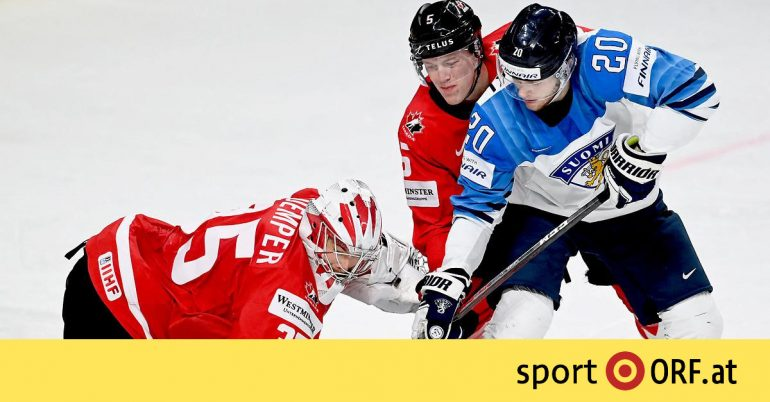 Ice Hockey World Cup: Canada has escaped the negative premiere - sport.ORF.at