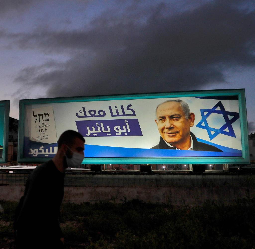 Without the votes of Arab Israelis, Prime Minister Benjamin Netanyahu would be closer
