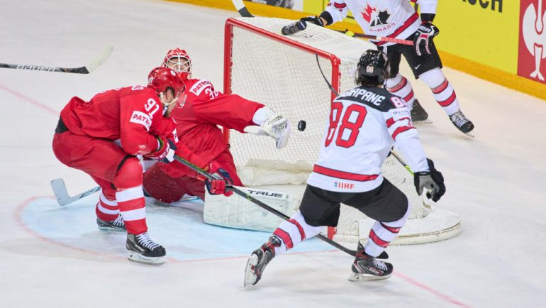 big surprise!  Canada kicks Russia out of the tournament