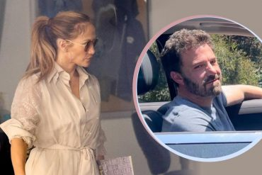 Ben Affleck and J.J.  Lou: She's looking for a new school for her kids - for those around her