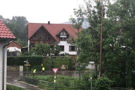 Heavy storm on Waldsetten |  schwabish gamundi