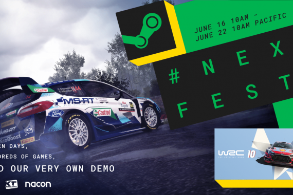 WRC 10 - to be unveiled at Steam Next Fest
