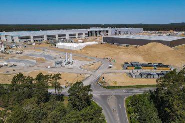 Tesla Factory Near Berlin: New Black Giga Factory Plan |  regional