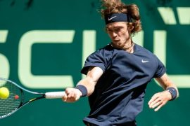 Tennis - Rublev and Humbert fight for tennis title in Halle - Sport