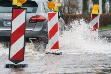 Typhoon in the Aachen region: heavy rain flooded the basement