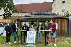 Stadtrat Peter Natter mit den 3 Jungendvereinen