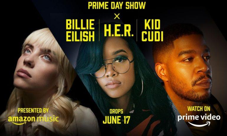 "Billie Eilish rocked this year's ""Amazon Prime Day Show"""