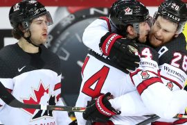 Canada after a thrilling win against Russia in the semi-final
