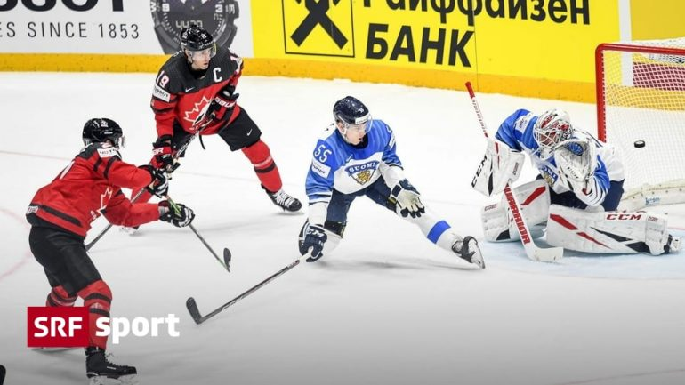 Canada v Finland - unexpectedly to recapture in World Cup final