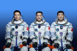 China sent astronauts to the new space station for the first time.  free Press