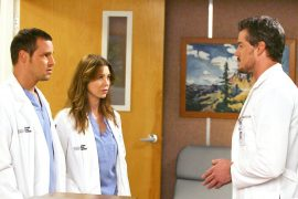 "Double surprise: ""Grey's Anatomy"" stars celebrate their reunion"