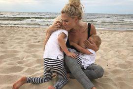 Due to depression: Sara Kulka sets high limits for her kids