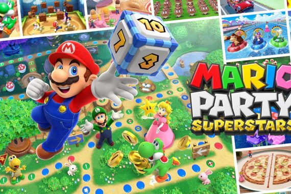 Experience five classic game boards and 100 mini-games from the N64 era • Nintendo Connect