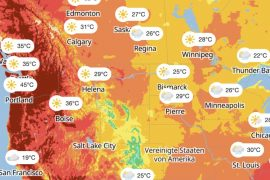Extreme heat wave in the United States: 45 degrees and above - will it even be possible in Germany?
