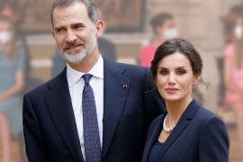 Felipe and Letizia from Spain: colorful family appearance: everyone looks at their beautiful daughters