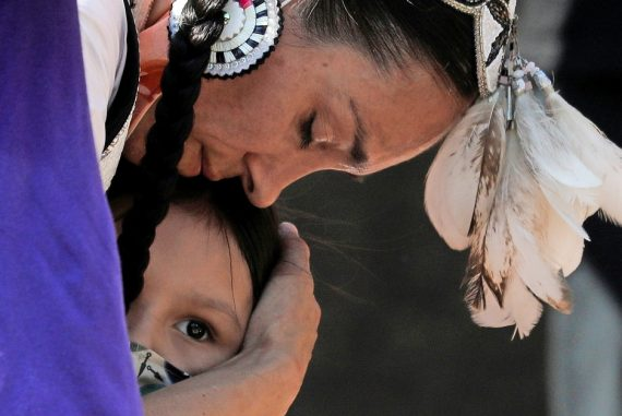 Government re-education for Native American children in Canada