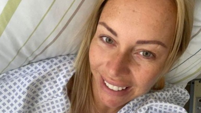 Has the cancer spread?  Julia Holz reports after surgery