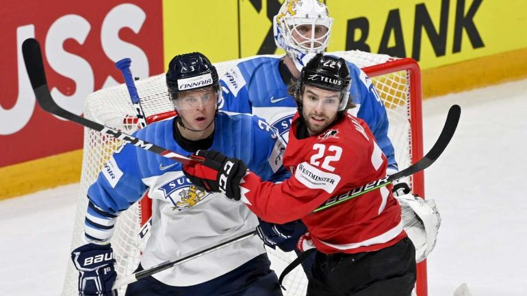 Ice Hockey World Cup: Final between Finland and Canada in live ticker