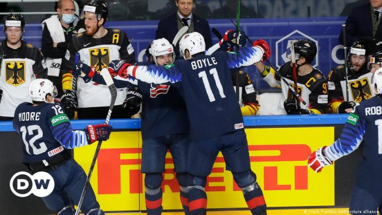 Ice Hockey World Cup: USA shows dignity to DEB team  game    dw