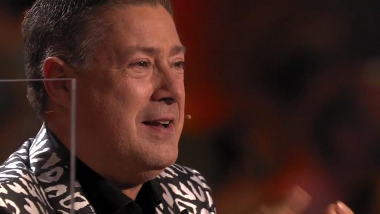 Joachim Llumby with tears in his eyes!  Only Renata and Valentin Lucin can do this