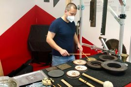 Junk becomes music: Artist makes instruments out of waste