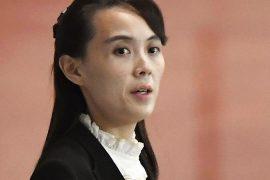 Kim Jong Un's sister warns US of 'more despair'