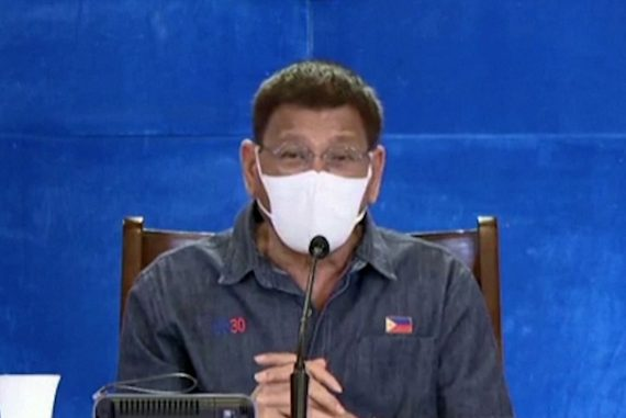 "Philippines - Rodrigo Duterte Threatens: ""Either Get Vaccinated Or Go To Jail"""