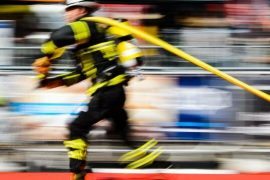 Sport: European Championship: Fire brigade fitness fitness at 30 degrees