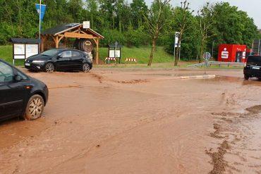 Storm causes flooding in Bad Kreuznach area - SWR News