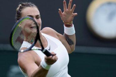 Tennis - Co-favorite Sabalenka struggles in the third round
