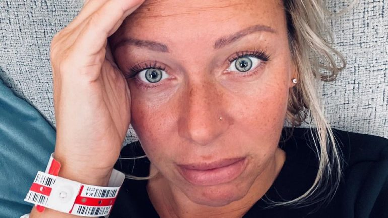 Uterus removed: Julia Holz needs more surgery