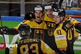 World Cup game on Tuesday - Swiss quarterfinal opponent: Germany beat Latvia - SPORTS