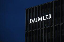 Die Zentrale der Daimler AG im Mercedes-Benz Werk Untertürkheim.