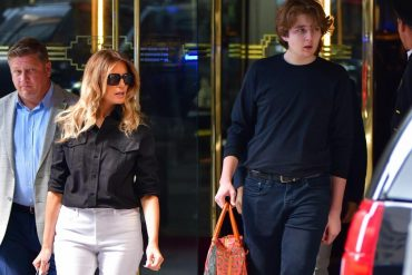 Donald Trump: 15-year-old son Barron is now more than two meters tall