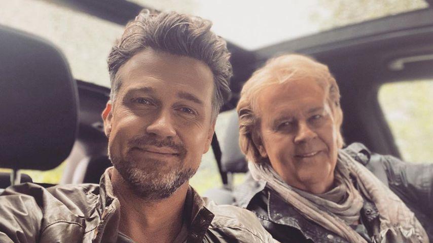 Wayne and Howard Karpendel in June 2020