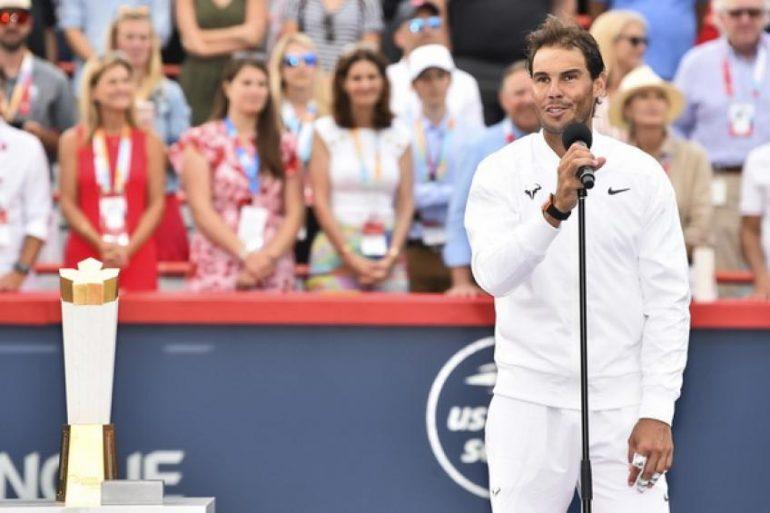 Rafa Nadal: Ich freue mich sehr, nach Kanada zurückzukehren und in Toronto zu spielen