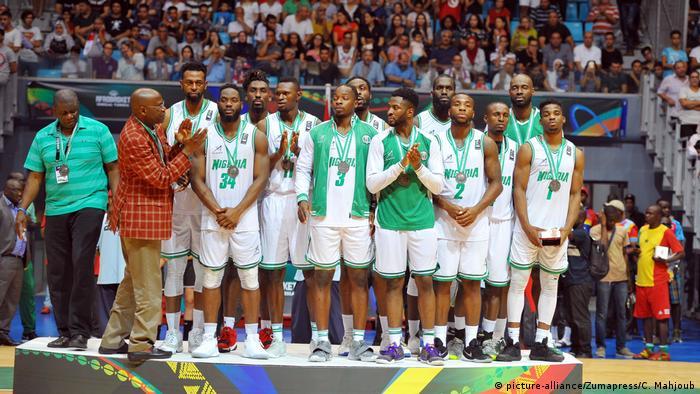 Tunisia Tunis AfroBasket 2017 2nd Place Nigeria