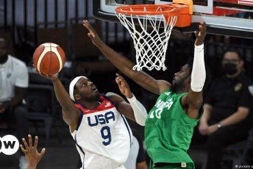 Nigeria, a very American basketball team    game    dw