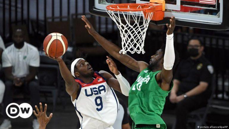 Nigeria, a very American basketball team |  game |  dw