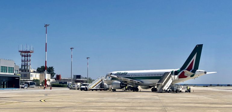 Agreement with EU: Alitalia brand to be auctioned