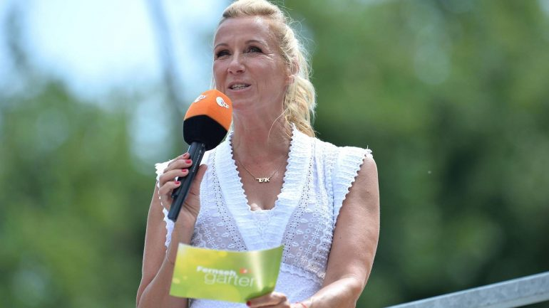 """Andrea Kievel impressed: """"ZDF-Fernsgarten"""" reacts to the flood disaster"""