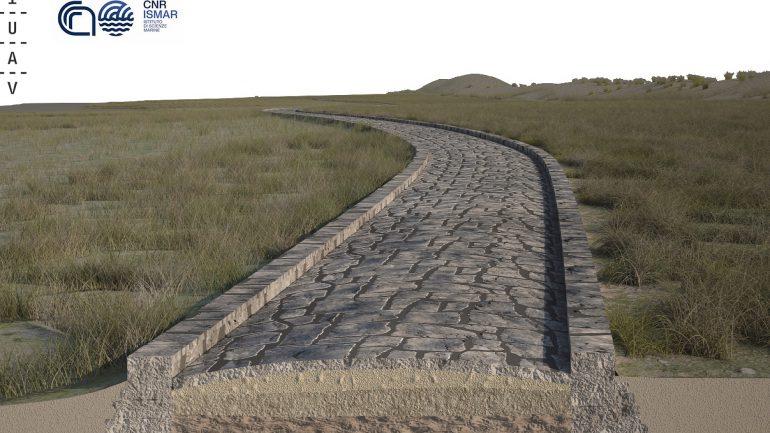 Archaeology: The Sunken Roman Road in the Lagoon of Venice